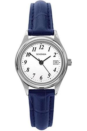 Sekonda Womens Analogue Classic Quartz Watch with Leather Strap 2902