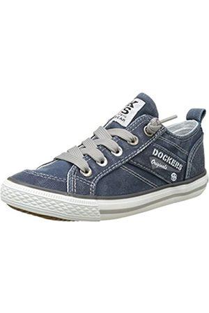 Dockers by Gerli 36vc606-790660, Unisex Kids' Low-Top Sneakers, (Navy 660)