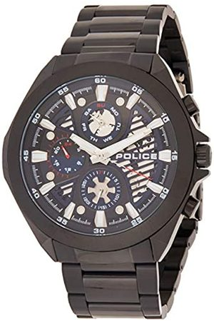 Police Unisex Adult Analogue Quartz Watch with Stainless Steel Strap PL15654JSB.03M