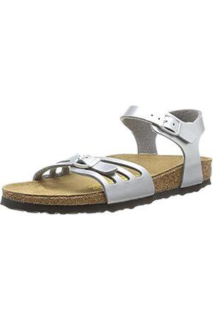 Birkenstock Bali, Women's Ankle-Strap Sandals, (Argent Argent)