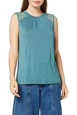 Vero Moda Women's Vmfika S/l O Neck Lace Insert Blouse Exp Vest