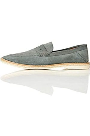 FIND Jute Sole Soft Leather Loafers, )