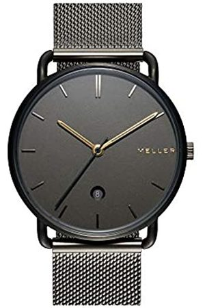 Meller Unisex Adult Analogue Quartz Watch with Stainless Steel Strap 3GG-2GREY