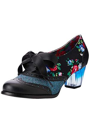 Irregular Choice Women's Corporate Beauty Brogues, ( Floral Y)
