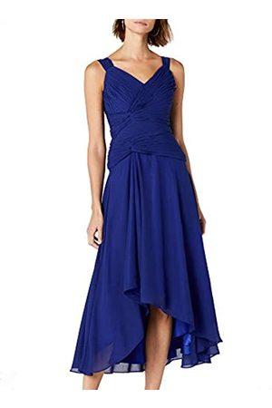 Astrapahl Women's co6021ap Knee-Length Plain Cocktail Sleeveless Dress