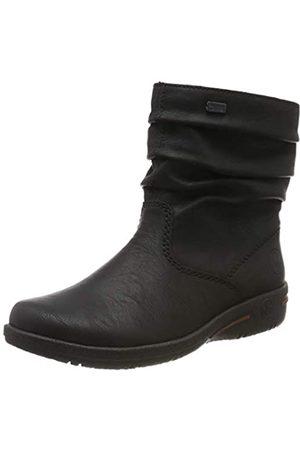 Rieker Women's Herbst/Winter Ankle Boots, (Schwarz / 01 01)