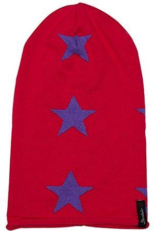 Sterntaler Girl's Strickmütze Hat, -Violett (Magenta 745)