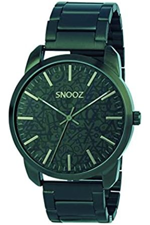 Snooz Men's Analogue Quartz Watch with Stainless Steel Strap Saa1043-64