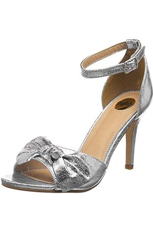Buffalo 317039 LH-129 MET PU, Women's Ankle Strap Sandals, ( 001)