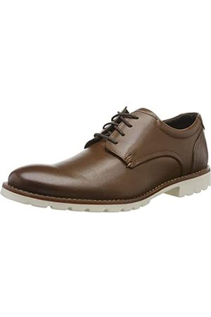 Rockport Men's Sharp & Ready Colben Plain Toe Oxfords, ( 001)