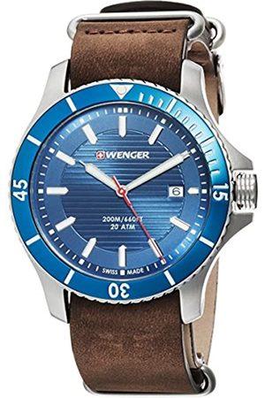 Wegner Unisex Analogue Quartz Watch with Leather Strap 01.0641.121