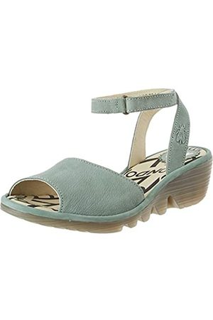 Fly London Women's PATO976FLY Ankle Strap Sandals, (Jade 008)
