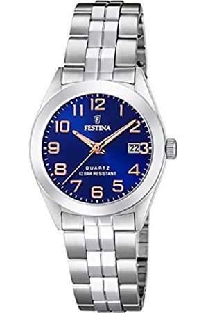 Festina Womens Analogue Quartz Watch with Stainless Steel Strap F20438/2