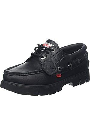 Kickers Men's Lennon Boatshoe Boat Shoes, ( Blk)