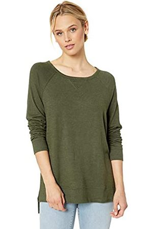 Daily Ritual Cozy Knit Open Crewneck Dorito Pullover Shirt