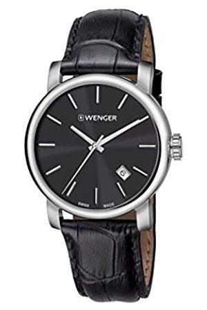 Wenger Men's Analogue Quartz Watch with Leather Strap 01.1041.139