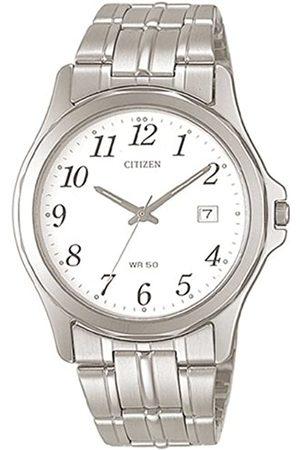 Citizen Men's Analogue Quartz Watch with Stainless Steel Strap BI0740-53A