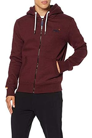 Superdry Men's Orange Label Classic Ziphood Hoodie