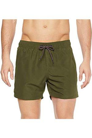 Strellson Men's Swim Shorts, (Olive Night)