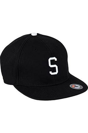 MSTRDS Letter Snapback S Baseball Cap, -Schwarz (S 1178,4634)