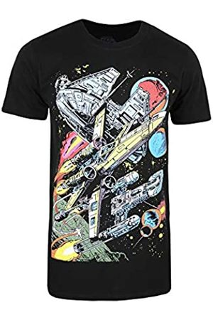 STAR WARS Men's Falcon Battle T-Shirt