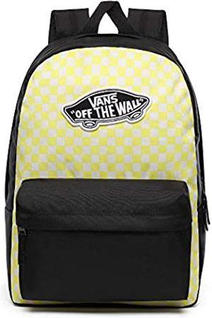 Vans Realm Backpack Lemon Tonic Checkerboard
