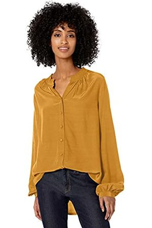 Goodthreads Viscose Sleeve-interest Shirt Harvest