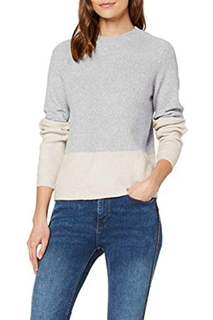 Vero Moda Women's VMDOFFY LS Rib Block Blouse PI Jumper