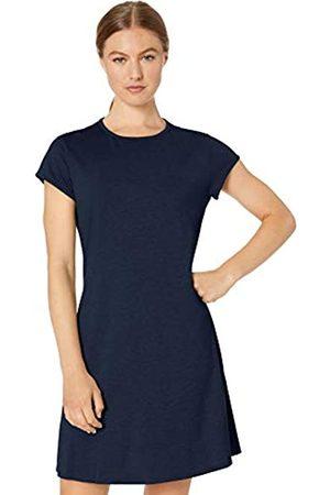 CORE Soft Workout Cap Sleeve Tennis Dress Navy/ Heather