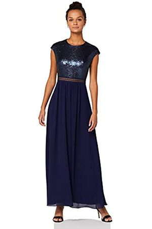 TRUTH & FABLE Amazon Brand - Women's Maxi Chiffon A-Line Dress, 12