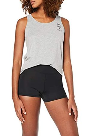 AURIQUE Amazon Brand - Women's 2 Pack Sculpt High Waisted Sports Shorts, 16