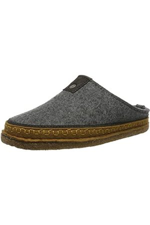 Haflinger Unisex Adults' Flair Altai Open Back Slippers, (Anthrazit 4)