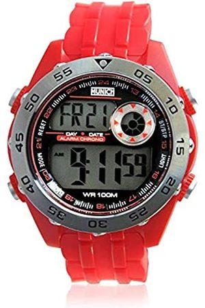 Munich Unisex Adult Digital Quartz Watch with PU Strap MU+111.4A