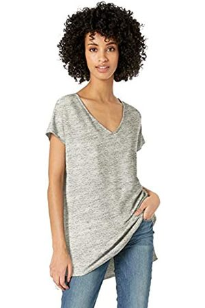 Daily Ritual Amazon Brand - Women's Supersoft Terry Dolman-Sleeve V-Neck Tunic