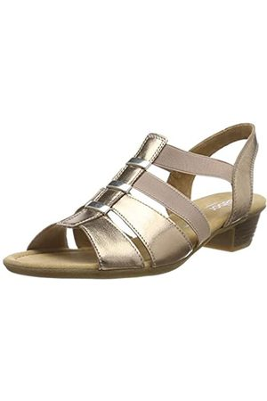 Gabor Shoes Women's Comfort Sport Ankle Strap Sandals, (Rame 94)