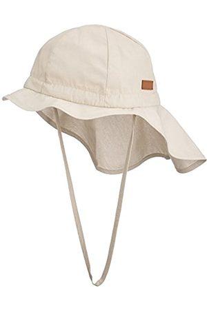 Melton Boy's Sonnenhut mit Nackenschutz UV 30+, uni Cap