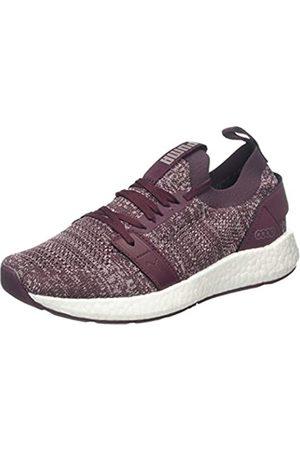Puma Women's NRGY Neko Engineer Knit WNS Running Shoes, Vineyard Wine-Bridal Rose