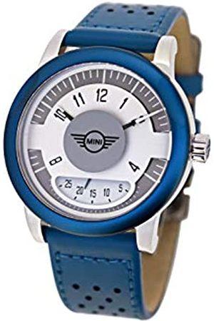 MINI Unisex Adult Analogue Classic Quartz Watch with Leather Strap SM-002