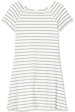 Vila CLOTHES Women's Vitinny S/s A-shape Dress-noos Mini Striped Short Sleeve Dress