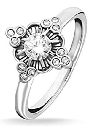 Thomas Sabo Women Ring Royalty White 925 Sterling