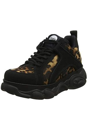 Buffalo Women's Corin Low-Top Sneakers, (Leopard/ 001)