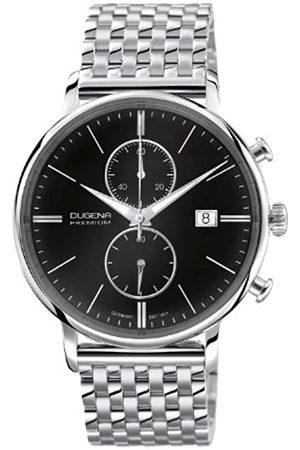 DUGENA Gents Watch XL Premium 7090181 Chronograph Quartz Stainless Steel