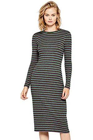 FIND Women's Stripe Midi Dress
