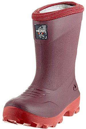 viking Unisex Kids' Frost Fighter Snow Boots, Wine/Dark