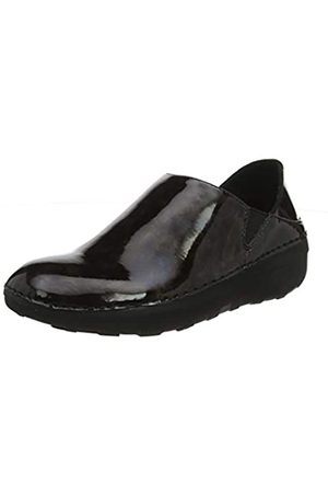 FitFlop Women's SUPERLOAFER-TORTSHELL Loafers, (Charcoal 688)