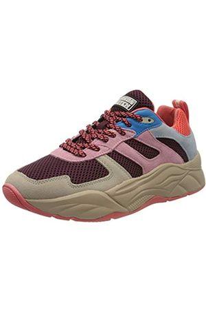 SCOTCH & SODA FOOTWEAR Women's Celest Low-Top Sneakers, (Peony Multi S581)