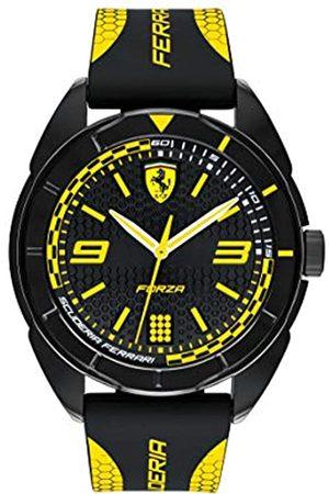 Scuderia Ferrari Unisex-Adult Analogue Classic Quartz Watch with Silicone Strap 0830516