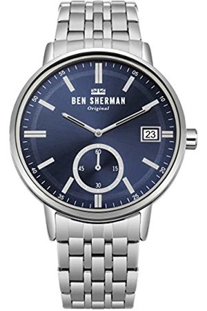 Ben Sherman Mens Analogue Classic Quartz Watch with Stainless Steel Strap WB071USM