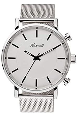 Antoneli Unisex-Adult Analogue Classic Quartz Watch with Stainless Steel Strap AG6182-09