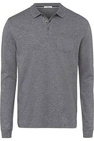 BRAX Men's Philip Pima Cotton Interlock Polo Casual Longsleeve T-Shirt